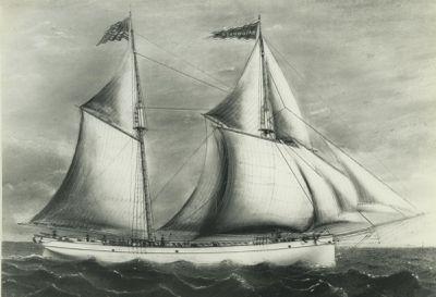 COLUMBIAN (1864, Schooner)