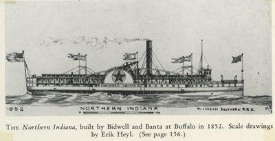 NORTHERN INDIANA (1852, Steamer)