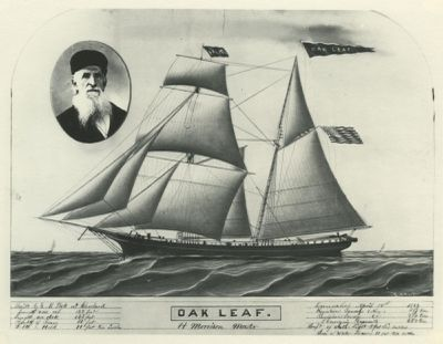 OAK LEAF (1866, Schooner)