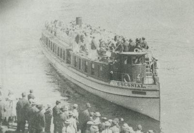 COLONIAL (1895, Excursion Vessel)
