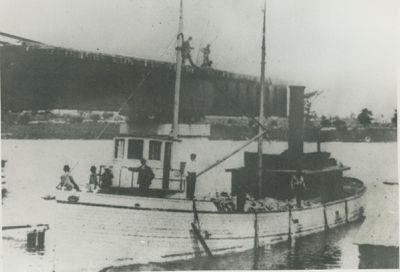 CYCLONE (1883, Yacht)