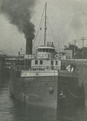 AMERICA (1889, Bulk Freighter)