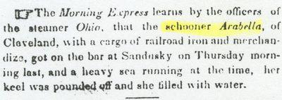 ARABELLA (1847, Schooner)