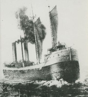 AUSTRALASIA (1884, Bulk Freighter)