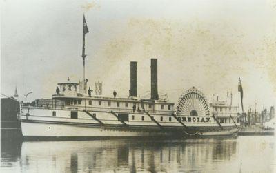 GRECIAN (1864, Steamer)