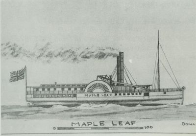 MAPLE LEAF (1851, Steamer)