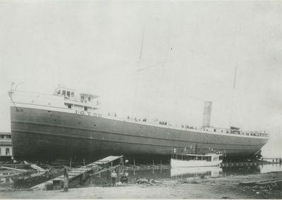 MARYLAND (1890, Bulk Freighter)