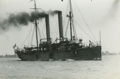 NASHVILLE, U.S.S. (1895, Propeller)