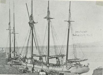 NAU, LIBBIE (1867, Schooner)