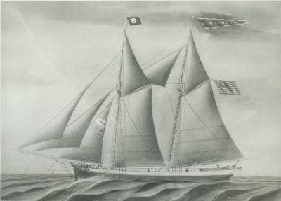 NEW LONDON (1856, Schooner)