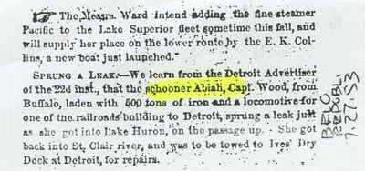ABIAH (1848, Schooner)