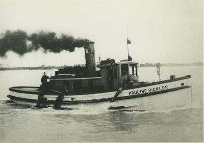 HICKLER, PAULINE (1892, Tug (Towboat))