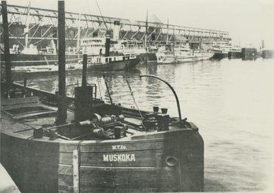 MUSKOKA (1872, Barge)