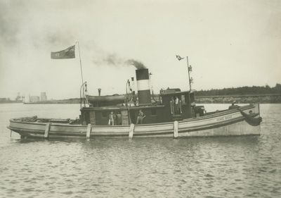HOME RULE (1890, Tug (Towboat))