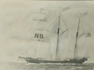 NEWS BOY (1862, Barkentine)