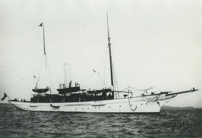 GUNILDA (1897, Yacht)