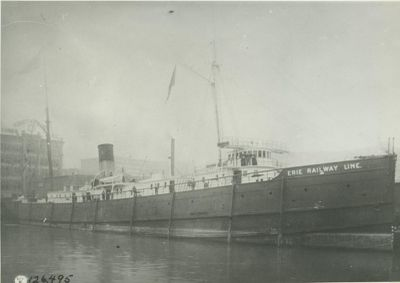 CHEMUNG (1888, Package Freighter)