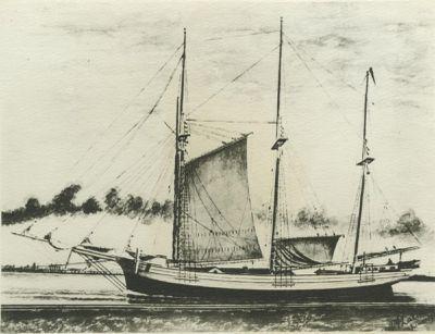 KATAHDIN (1888, Schooner)