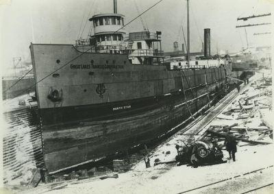 NORTH STAR (1909, Bulk Freighter)