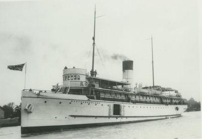 NORTHUMBERLAND (1891, Passenger Steamer)