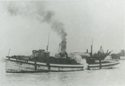 COLUMBIA (1900, Tug (Towboat))