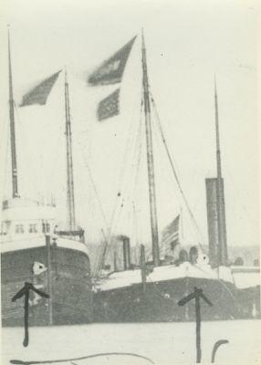 MORAVIA (1888, Schooner-barge)