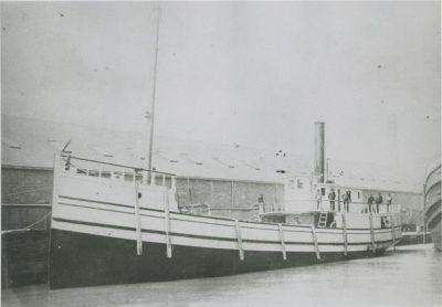KALAMAZOO (1888, Steambarge)
