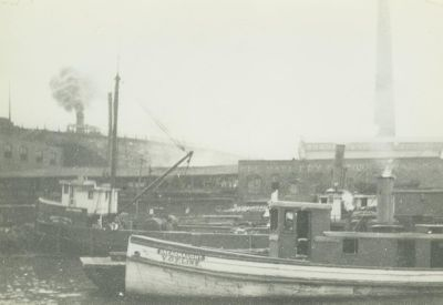 KINGSFORD, THOMSON (1880, Steambarge)
