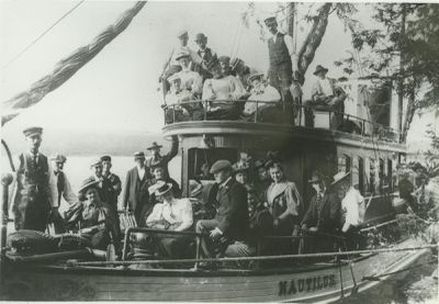 NAUTILUS (1886, Yacht)