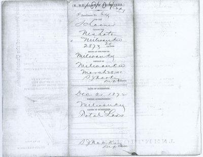 NESHOTA (1864, Schooner)