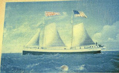 NEIL, FANNY (1870, Schooner-barge)