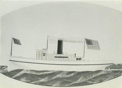 MORTON, MINNIE (1871, Tug (Towboat))