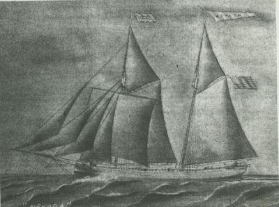 NEVADA (1867, Schooner)
