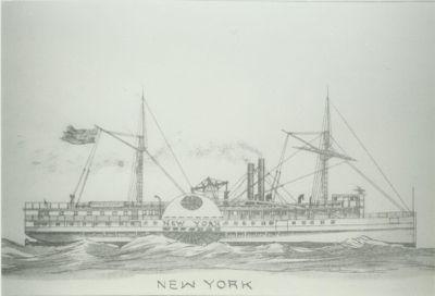 NEW YORK (1851, Steamer)
