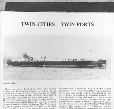 TWIN CITIES (1923)