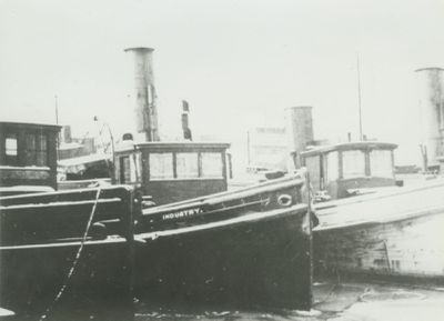 INDUSTRY (1897, Tug (Towboat))