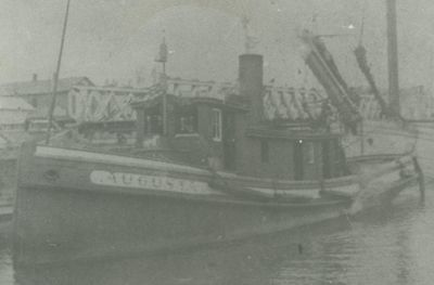 AUGUSTA (1882, Tug (Towboat))