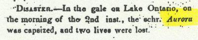 AURORA (pre1844, Schooner)