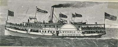 WEHRLE, A., JR. (1889, Steamer)