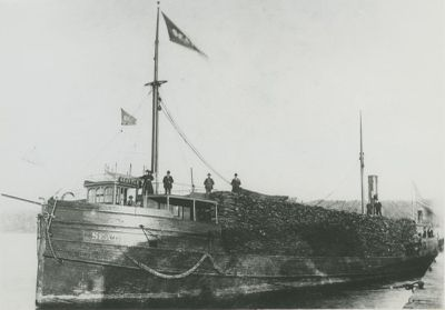 SEATTLE (1892, Steambarge)
