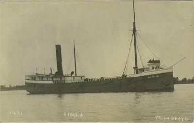 SIMLA (1903, Bulk Freighter)