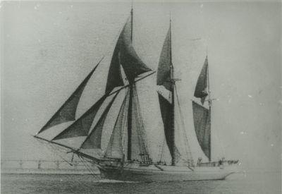 SIMMONS, ROUSE (1868, Schooner)