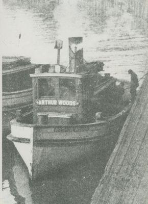 WOODS, ARTHUR (1888, Tug (Towboat))