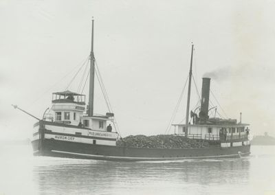HURON CITY (1867, Steambarge)