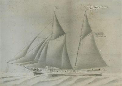 HYPHEN (1861, Schooner)