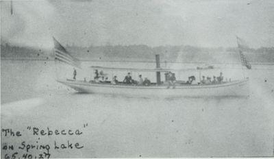 REBECCA (1891, Excursion Vessel)