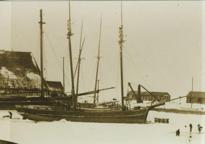 QUINBY, I.L. (1863, Scow Schooner)