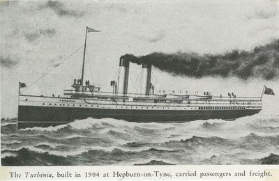 TURBINIA (1904, Propeller)