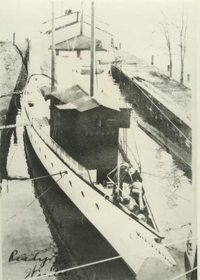 TRUANT (1892, Yacht)