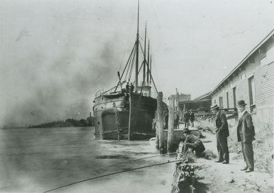 TUSCARORA (1890, Package Freighter)